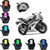199km/h 15000rpm KOSO RX2N Adjustable Motorcycle Odometer Speedometer Tachometer with 7 colors LCD Display Digital Car Styling