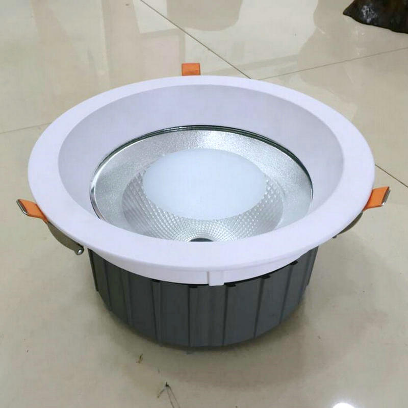 40w 50w Cree Led Cob Downlight With Cob Aluminiium Housing Led Cob Ceiling Lamp Free Shipping Relieving Heat And Thirst.