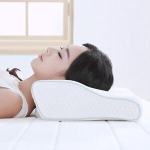 Image 4 - Original Xiaomi 8H Slow Rebound Contour Memory Foam Pillow s H2 Soft Antibacterial Butterfly Wings Shape Neck Support Pillow s