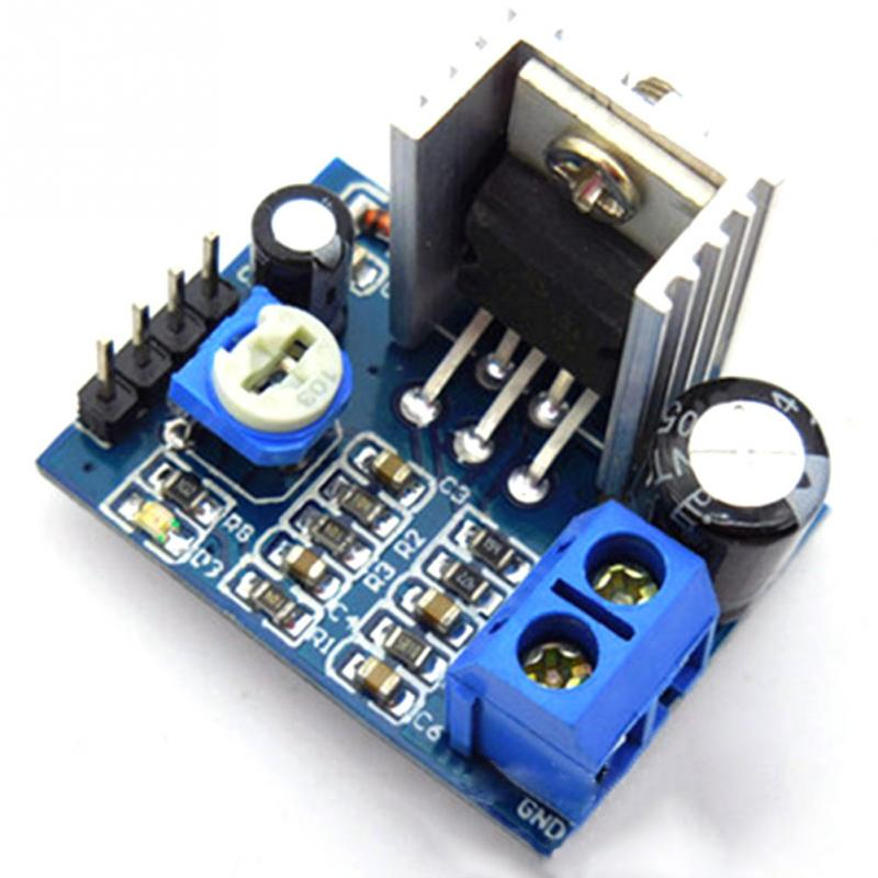 Audio Amplifier Module Professinal Audio Amplify Assmbly Parts Power Amplifier Board AMP 6 to 12V Operational Amplifier Chips