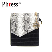 PHTESS Luxury Small Alligator Crossbody Bag For Women Messenger Bags Small Female Shoulder Bag Sac Mini
