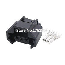 3 Pin Oxygen Sensor Connector Waterproof Plastic Connector With Terminal Plug DJ70319Z-1.2-21 3P