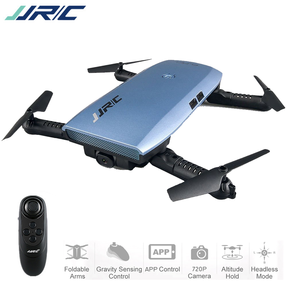JJR/C JJRC H47WH ELFIE Foldable Drone WIFI FPV Drone 4CH RC Quadcopter w/ 720P HD Camera G-sensor Altitude Hold 3D Rolling RTF jjr c jjrc h39wh wifi fpv with 720p camera high hold foldable arm app rc drones fpv quadcopter helicopter toy rtf vs h37 h31