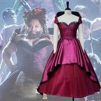 Наибольшее шоумен Летти Lutz бородатый женщина платье юбка Косплэй костюм для Хэллоуина Карнавал Детский костюм для вечеринок