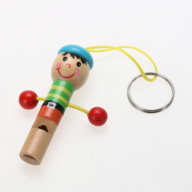 Wooden Whistle Pirate Style