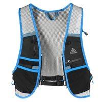 5L Men Women Running Backpack Outdoor Reflective Running Vest Backpack Hydration Vest Pack Bag Marathon Jogging Hiking Cycling
