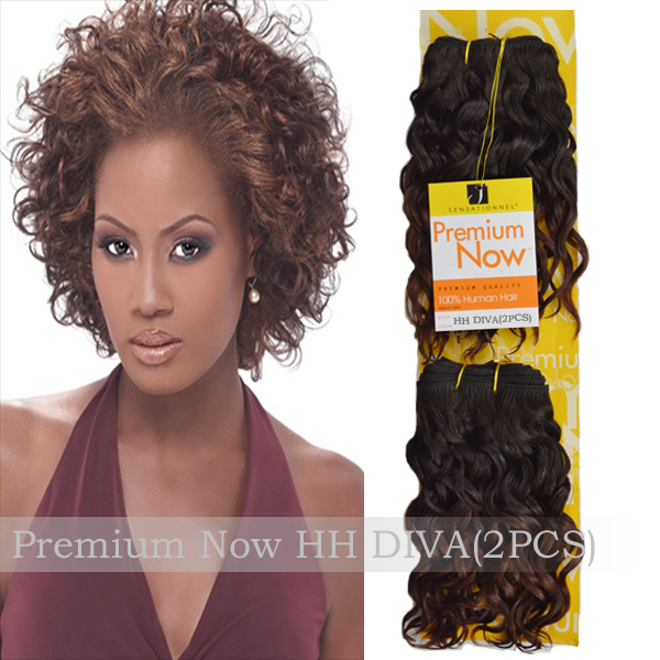 Premium Quality Sensationnel Premium Now Hh Diva Human Hair