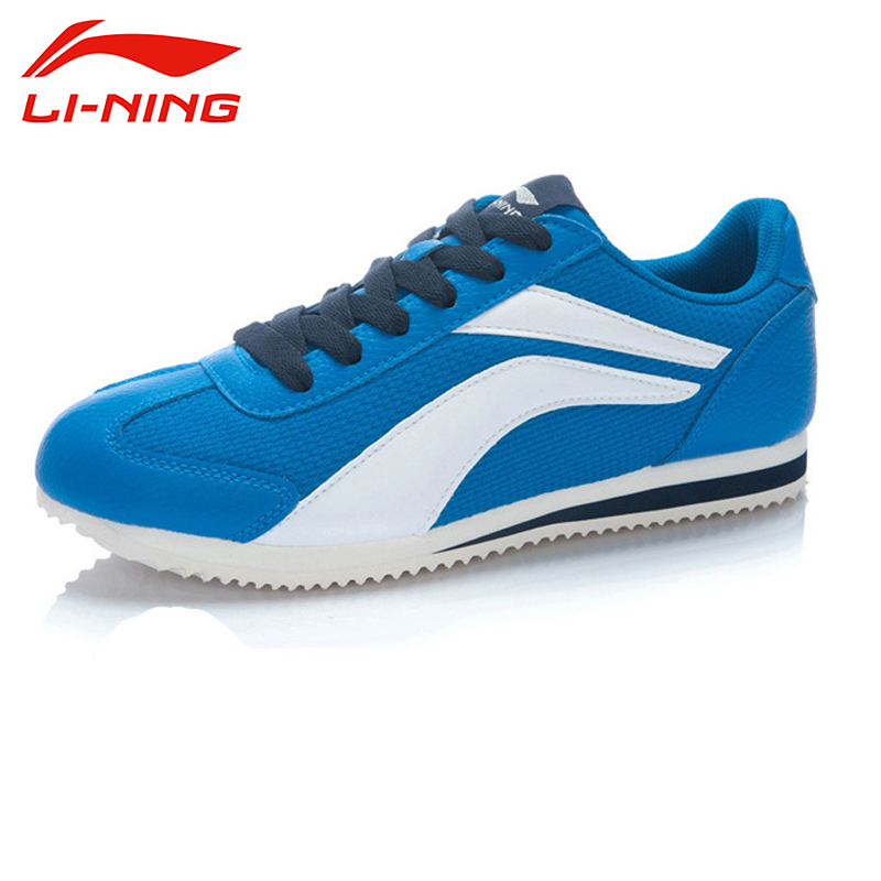 ФОТО LI-NING New Classic Style Free Flexible  Wear Breathable Light Style Soprt Shoes Walking Shoes Men ALCJ013 XYP052