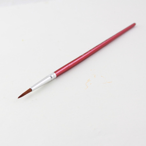 Image 5 - Memory 20Pcs Short Handle Artist Paint Brush Set Round Shape Nylon Hair Hook line Brush Set for Oil Watercolor Acrylic