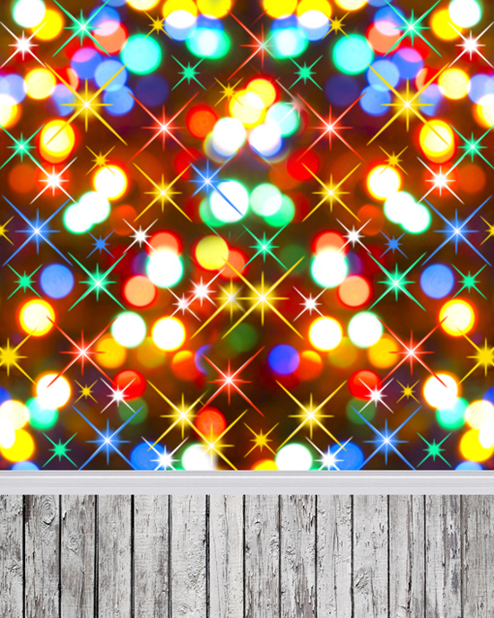 5x7ft Indoor Colorful Spot Light Wallpaper Christmas Backdrops Photography Photo Studio Vinyl Backgrounds 215cm 150cm backgrounds blossom petals colorful colorful floral scent the air tricks slim co photography backdrops photo lk 1135