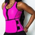 Новое Поступление Неопрена Сауна Пот Горячие Формочек Для Женщин Для Похудения Тело Регулируемый Ремень Fajas Талия Триммер Корсеты Shaperwear