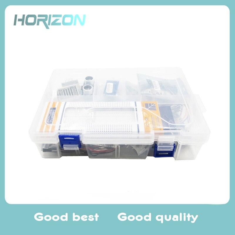Kit de pièces de démarreur UNO R3 emballé pour Arduino 1602 LCD servomoteur relais RTC LED