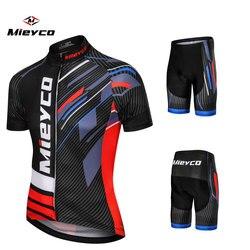 Mieyco ฤดูร้อนขี่จักรยาน Jersey ชุดจักรยาน MTB ขี่จักรยานเสื้อผ้าจักรยานสวมเสื้อผ้า Maillot Ropa Ciclismo