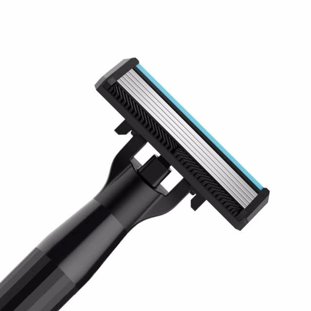 Xiaomi Huanxing 5-layer Blade Manual Razor Set Men Kit German importing Shaving head lemon Shaving bubbles 4