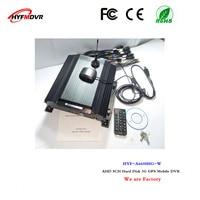 3G network surveillance video recorder GPS positioning tracking 8 channel hard disk equipment sprinkler mobile DVR
