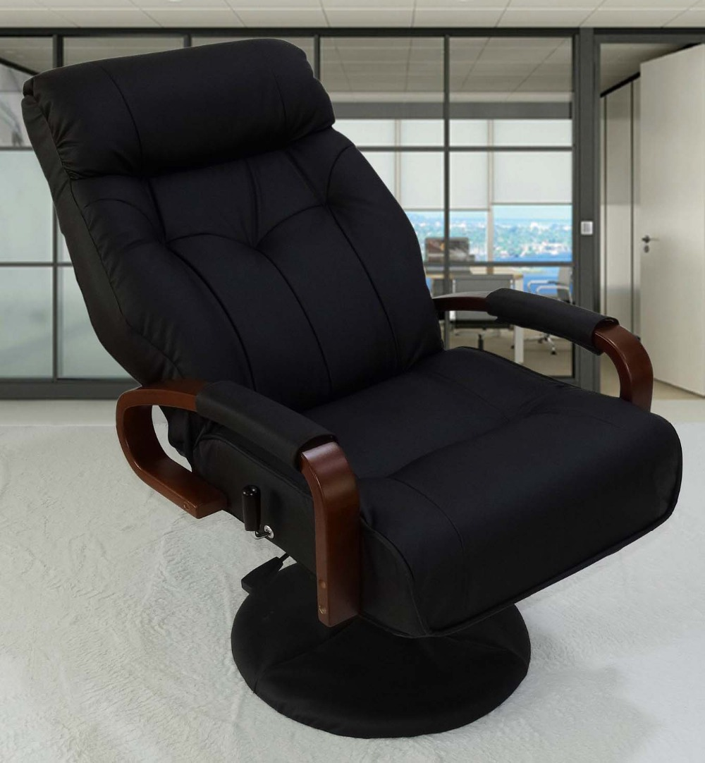 from furniture reclining executive in recliner armchair modern office chairs chair home leather item computer adjustable