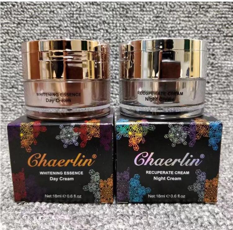 Free Shipping CHAERLIN Pigment Skin Whitening Cream Chloasma Cyasma Melanin Removing Freckle Speckle Firm Speckle Cream Set