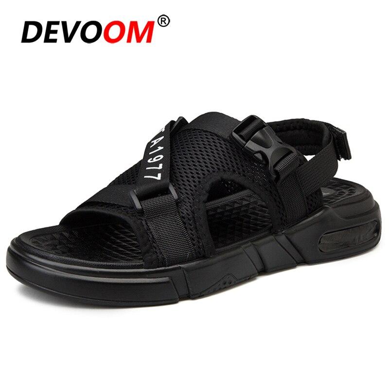 2019 Mode Schuhe Für Männer Strand Sandale Homme Herren Sandalen Sommer Heißer Verkauf Männer Sommer Schuhe Leichte Männliche Beiläufige Schuhe 44 Hohe QualitäT Und Preiswert
