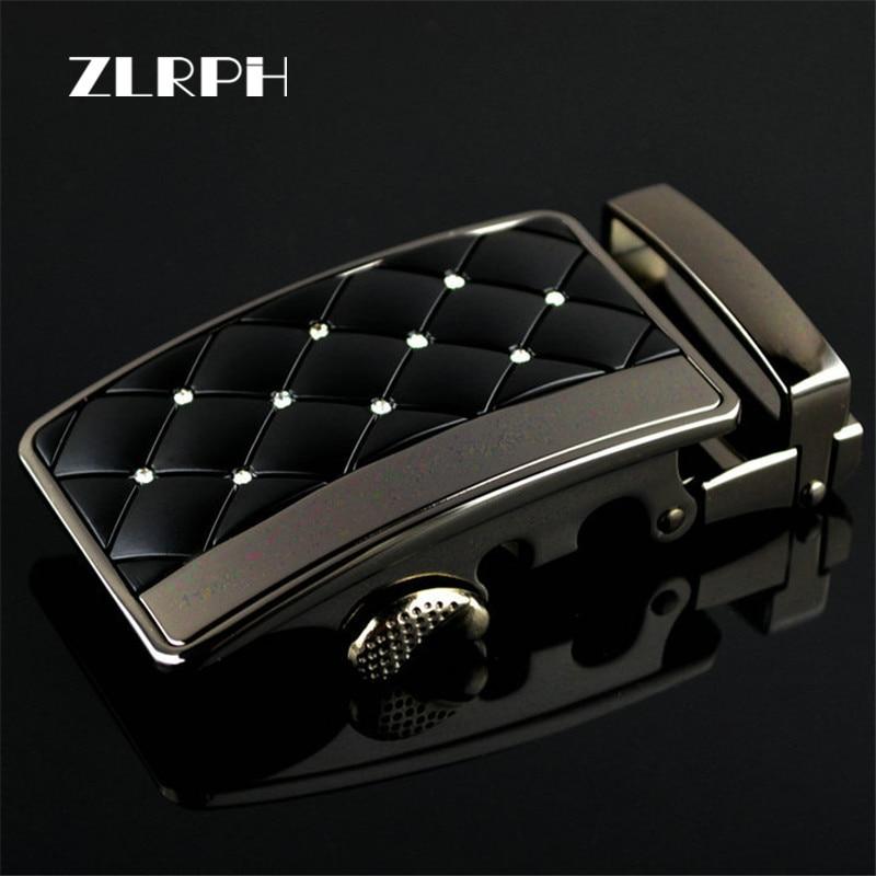 ZLRPH High-grade Belt Buckle Business Popular High-end Style Luxury Brand Man White Diamond Wholesale Hot Sale