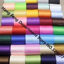 22 jardas/rolo 10cm de largura 34 colorido fita de seda fita de cetim diy casamento festival cena teto cadeira cinta decoração material