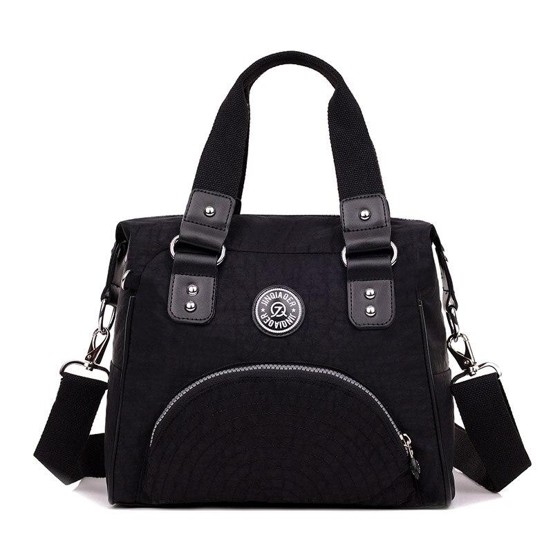 JINQIAOER 2019 New Famous Brand Designers Women's Tote Travel Shoulder Bag Waterproof Nylon Handbag Women Messenger Bags