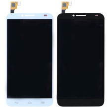 New  LCD Module For Alcatel One Touch Idol 2 OT6037 6037 LCD Display Digitizer Touch Screen Assembly VAJ23 T15 0.35