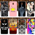 Coque FOR HTC ONE Mini Case Cover M4 601E Colorful Painting Phone Back Protector Cover Case FOR HTC ONE Mini