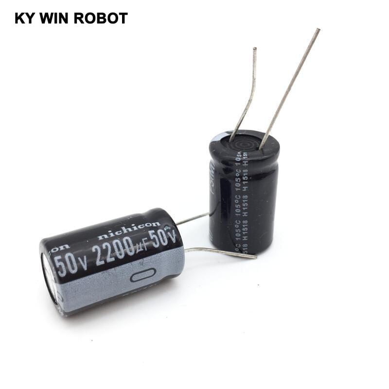 aluminum electrolytic 5pcs/lot 50V 2200UF 16 * 25mm Aluminum electrolytic capacitor (5)