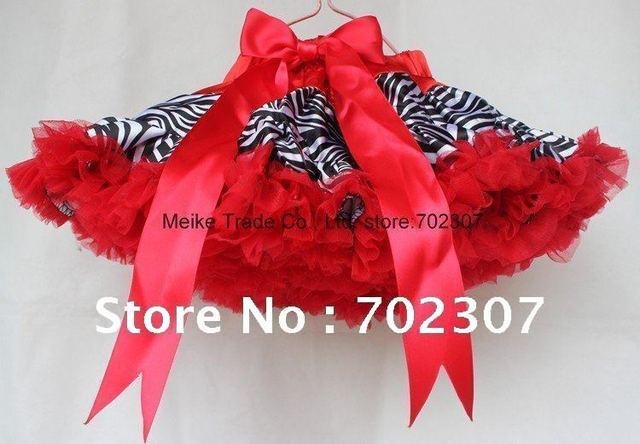 Free Shipping 5pcs/lot Tutu Skirts fashion style   Baby pettiskirt Girls clothing kids  Clothes j-477 red