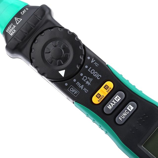 Auto Range LCD Screen DMM Multitester Professional Voltage Current TesterMS8211D Precision Digital Multimeter Pen Type Meter