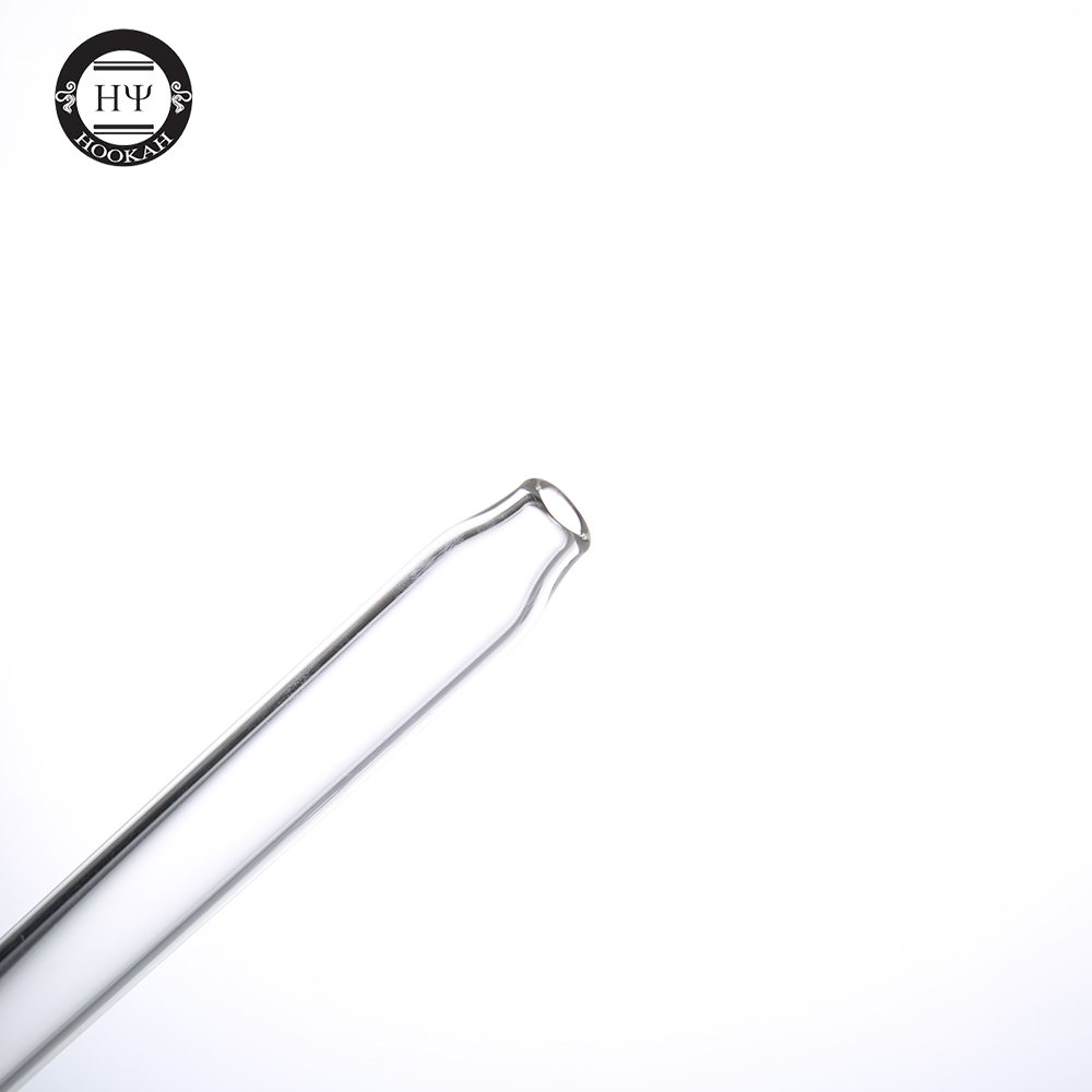 1pc skull glass mouth piece for glass shisha metal hookah clear chicha glass tube narguile hand pipe smoking accessory in Shisha Pipes Accessories from Home Garden