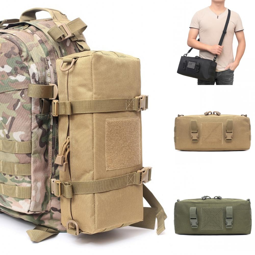 Military Tactical Bag Pouch Molle Waist Pack EDC Accessories Pouches Shoulder Bag Outdoor Backpack Climbing Hiking Hunting Bags