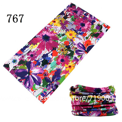 HTB1PJ8pibZnBKNjSZFhq6A.oXXaw - Flower Series Hiking Scarf Sport Headwear Women Reversible Bandanas Turban Hand Band Magic Scarves Outdoor Cycling Headband