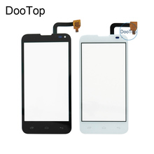 Фотография High quality FLY IQ4415 Era Style 3 Capacitive Touch screen Digitizer front glass replacement TouchScreen Black Free Shipping