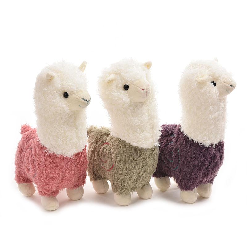 Fabric Sheep Stuffed Animal Plush Llama Yamma Birthday New Year