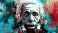 Albert Einstein Education Poster Canvas Print 50cmX75cm Home Decor Free Shipping