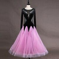 Custom Ballroom Dresses dance competition Dance Dresses Custom Women Ballroom Dancing dresses Flamenco Waltz Dance Dress