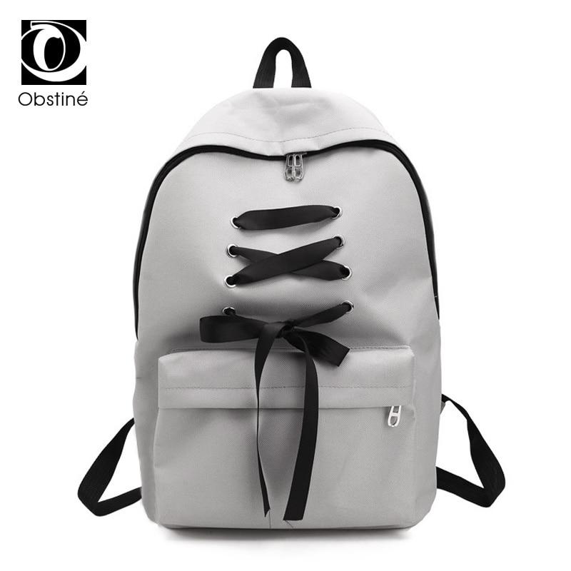 Fashion School Backpack Women Children Schoolbag Back Pack Leisure Korean Ladies Knapsack Laptop Travel Bags for
