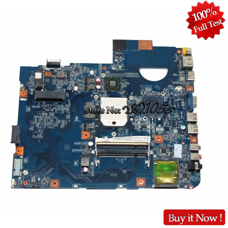 NOKOTION Laptop Motherboard For ACER 5542G 5542 Series MBPHA01001 48.4FN01.011 Free CPU Tested nokotion laptop motherboard for acer aspire 5542 main board mbpha01001 48 4fn01 011 216 0752001 ddr2 free cpu