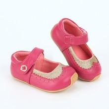 Tipsietoes کفش کودکان و نوجوانان پسر پسران ورزشی Antispip نرم پایین کودکان و نوجوانان کفش ورزشی تخت گاه به گاه کفش تخت صورتی چرمی