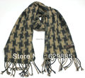 2017 Cashmere Acrylic Chevron Stripe Long Tassel Shawl Lovely Men Winter Plaid Scarves Male Nice Geometric Tassels Scarf