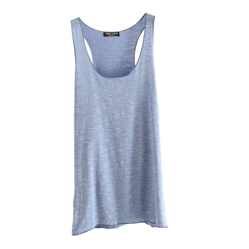 Women Fitness Tank Top T Shirt Vest Loose Model Women T-shirt Cotton O-neck Slim Top Women Clothes