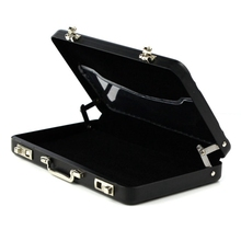 2016 New Metal Mini Fashion Suitcase Men Women Credit Card Holder Case Card Holder Wallet Business Name Card Package Bag