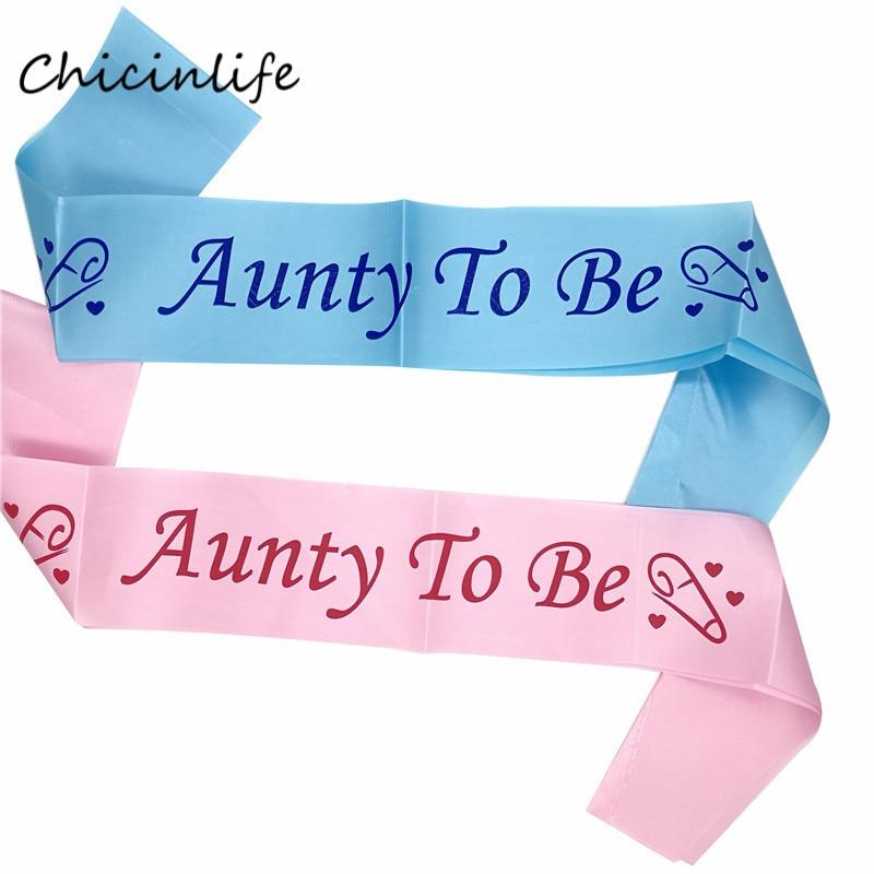 Chicinlife 1 шт. Мумия няня чтобы быть створки Новая Мама Baby Shower вечеринок розовый синий Sash украшение партии