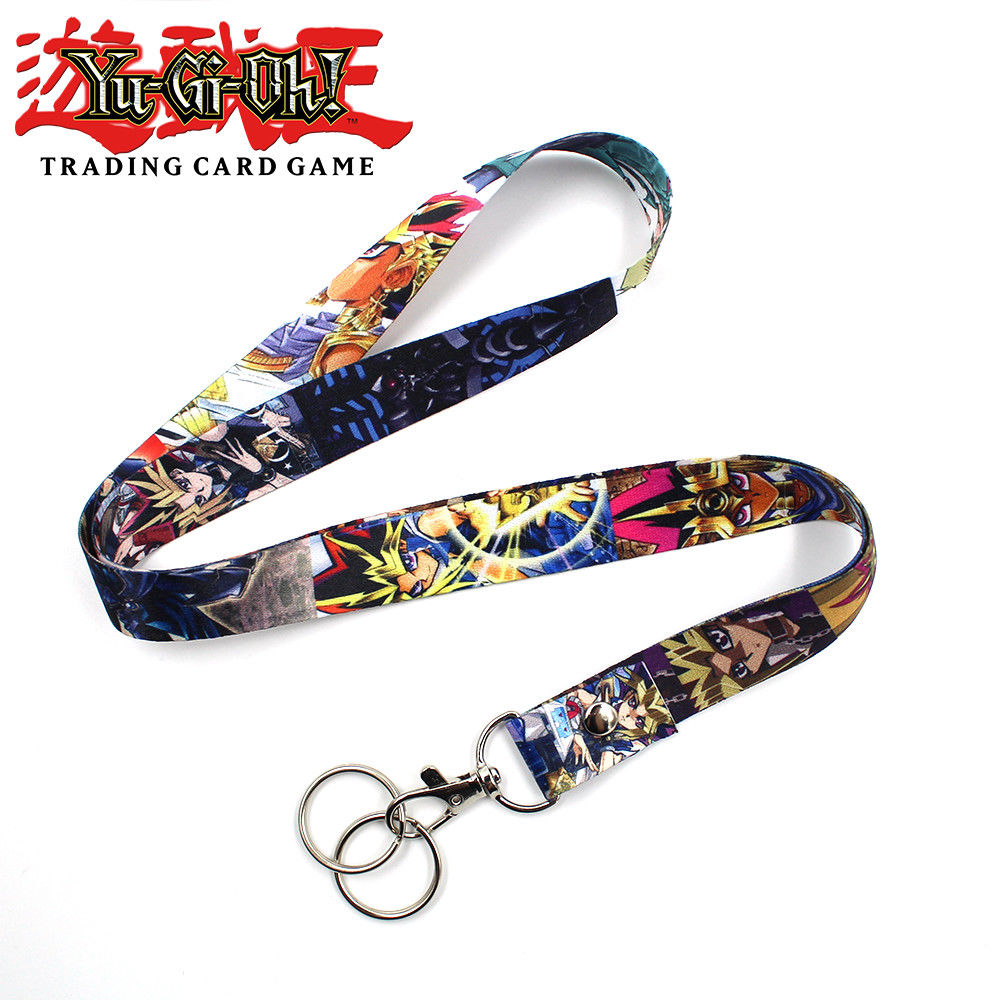 OHCOMICS Hot Anime Yu-Gi-Oh! Cell Phone Rope Strap Clip Lanyard Charm Charm Cords Lariat Clip Lanyards Keychain Costume Pendants