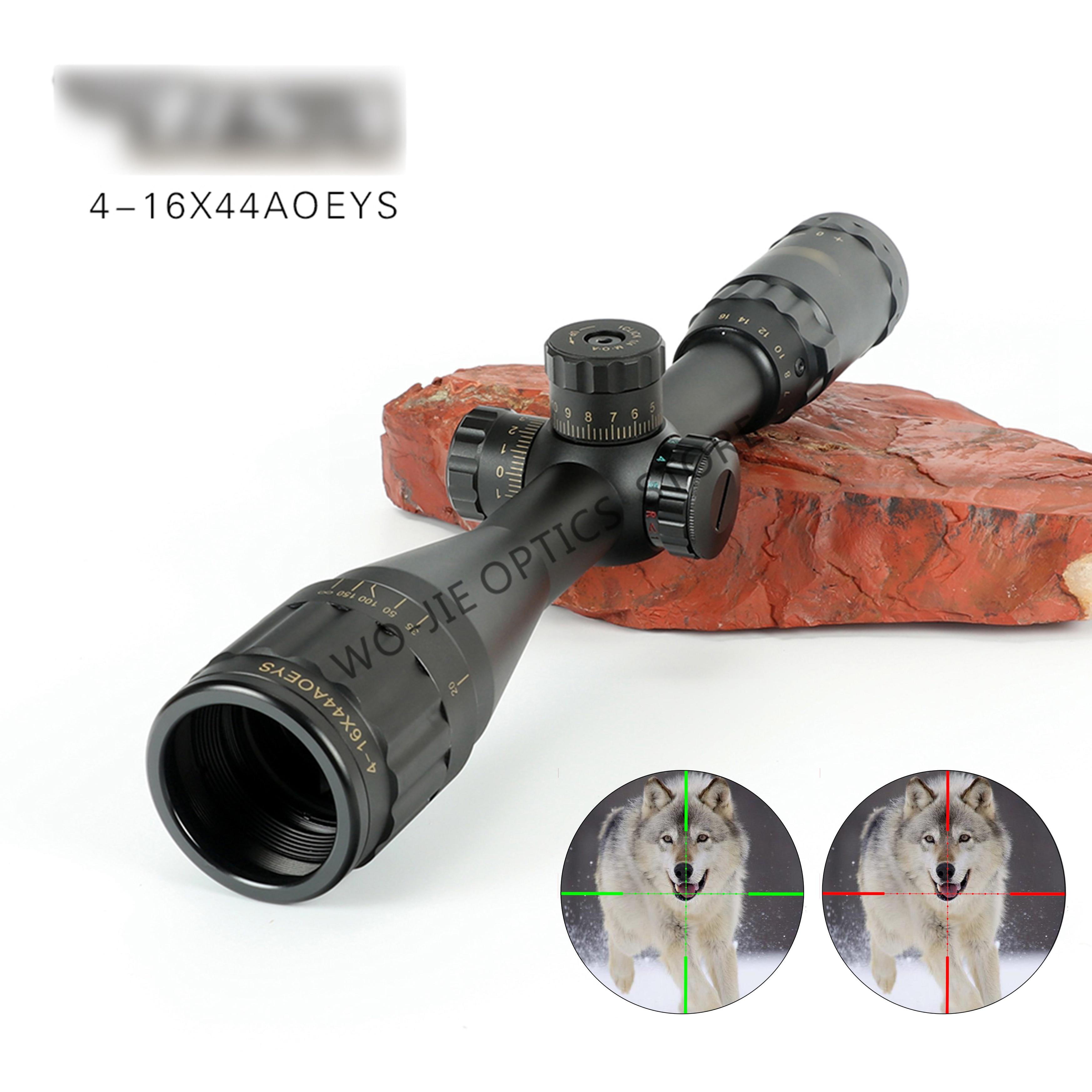 BSA OPTICS 4-16x44 ST Tactical Optic Sight Green Red Illuminated Riflescope Hunting Rifle Scope Sniper Airsoft Air Guns
