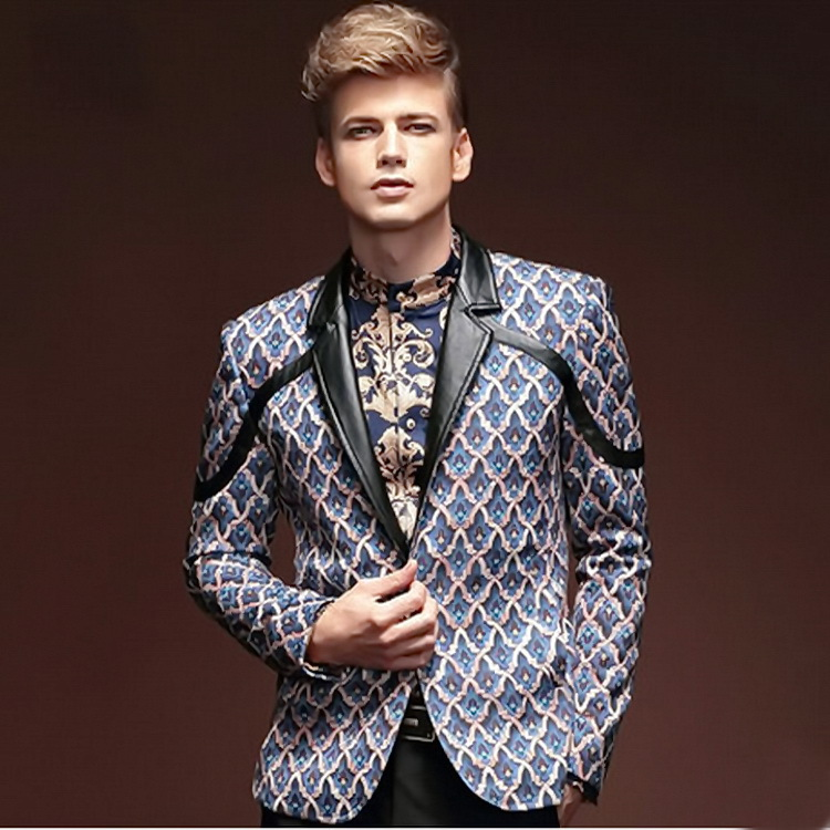 Aliexpress.com : Buy 2015 New European Style Mens Plaid Blazer