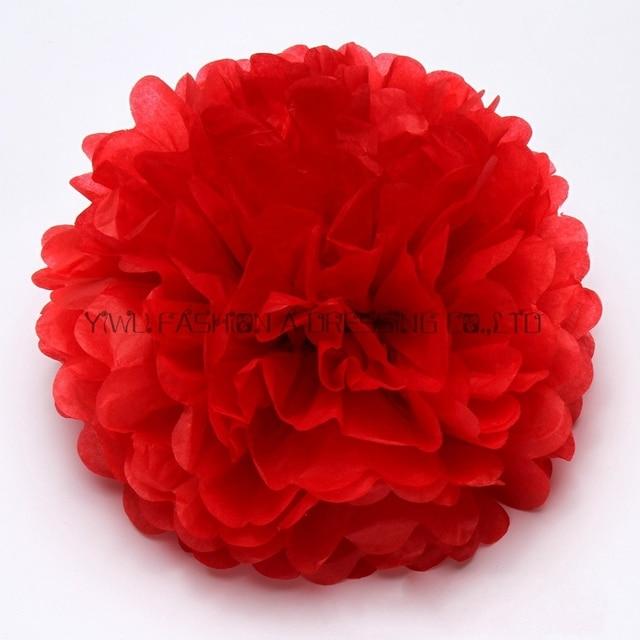Aliexpress buy 29 colors avilable large tissue paper flowers large tissue paper flowers balls party decor 18inch45cm mightylinksfo