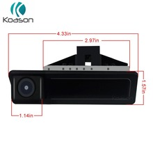 Koason Handpull Trunk open up Car Rear View Camera Reverse camera for E60 E90 E70 E71 2005-2010