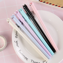 الجملة 60 قطعة kawaii القلم لطيف كس القط هلام أقلام لطلاب المدارس الاطفال هدية لطيف القرطاسية مختلط الألوان السائبة شحن مجاني